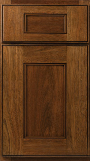 Bertch Doorstyles Raised Panel Flat Panel Slab Kitchen