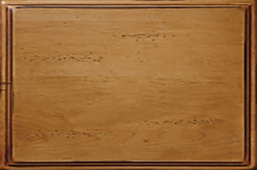 Woodharbor maple rustic barley finish