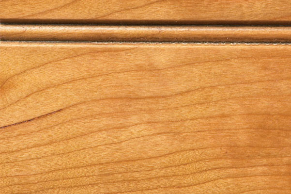 Woodharbor cherry butternut stain with fudge glaze finish