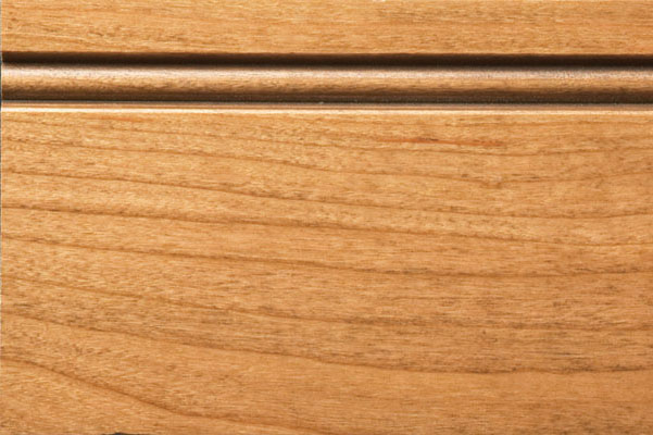 Woodharbor cherry natural with fudge glaze finish