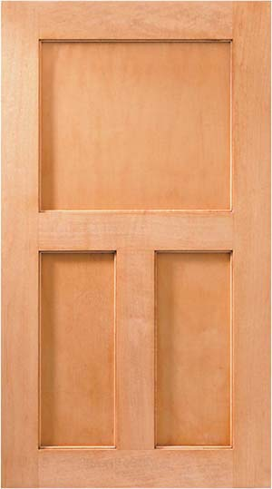 Woodharbor castleton cabinet door style