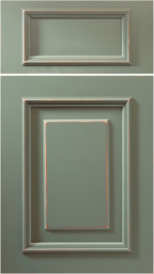Woodharbor salerno cabinet door style