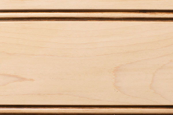 Woodharbor maple cameo stain with coffee glaze