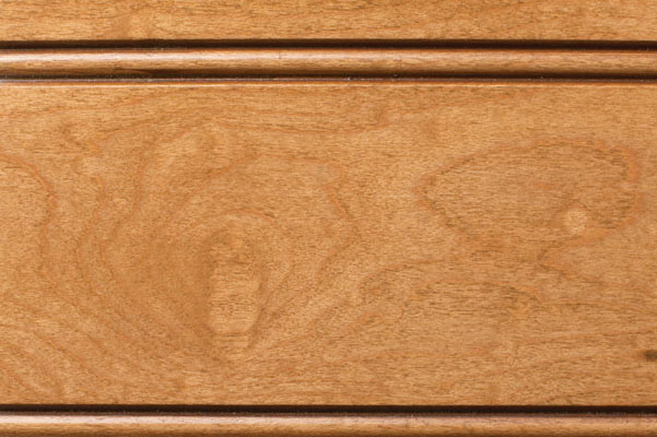 Woodharbor maple champagne stain with coffee glaze