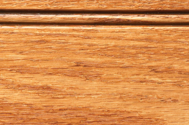 Woodharbor oak allspice stain with chocolate glaze