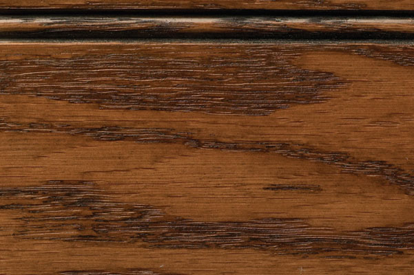 Woodharbor oak walnut stain with black glaze