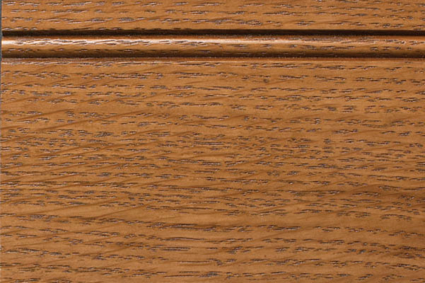Woodharbor quartersawn white oak hazelnut stain with coffee glaze finish
