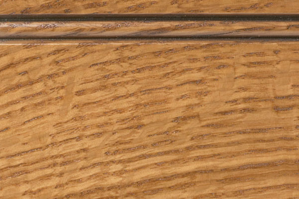 Woodharbor quartersawn white oak shortbread stain with fudge glaze