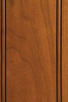 Woodharbor cherry caramel stain with coffee glaze