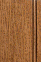 Woodharbor quartersawn oak hazelnut stain with coffee glaze