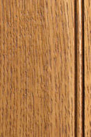 Woodharbor quartersawn white oak honey stain with coffee glaze