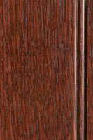 Woodharbor quartersawn white oak with merlot stain